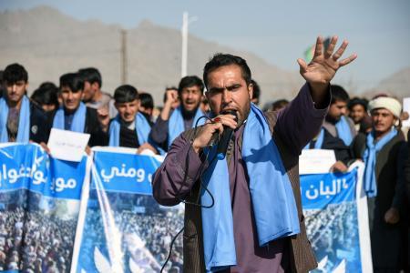 قندہار سے کابل ایک امن مارچ