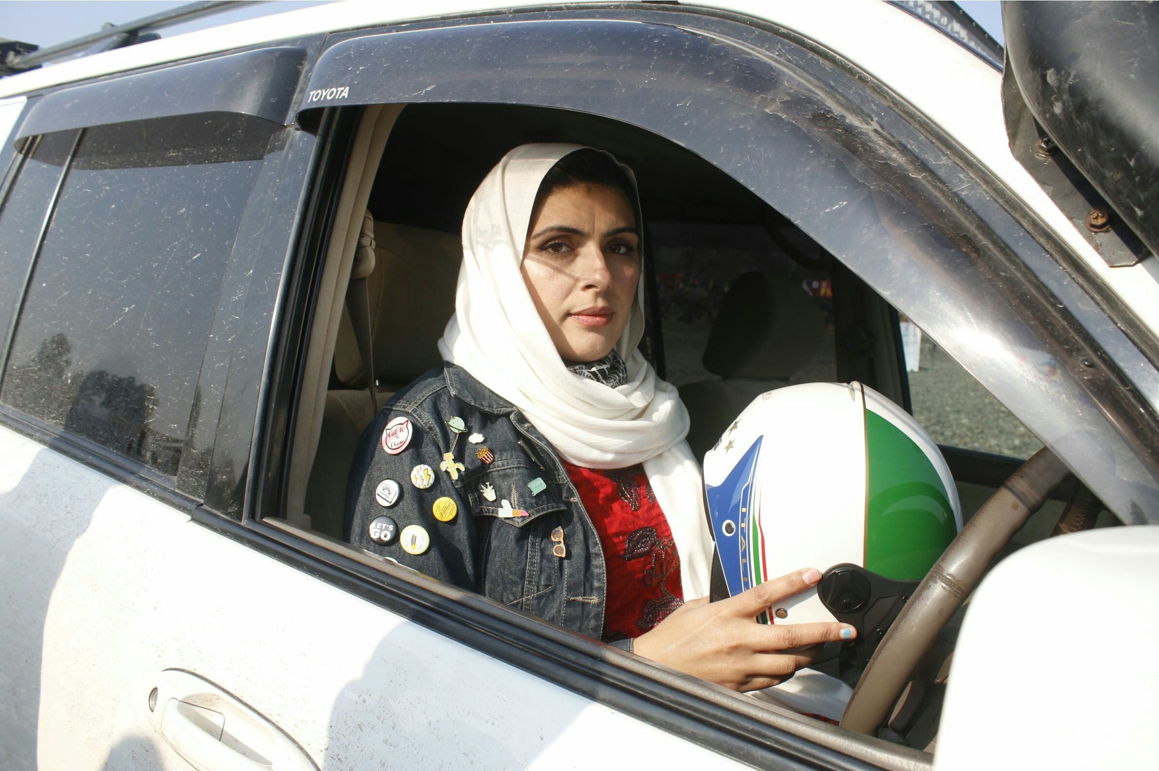 چیپ ریلی میں خواتین ڈرائیور بھی شریک ہوئیں