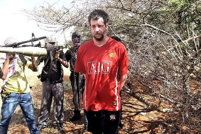 مائیکل سکاٹ مور کو ہوبویو سفر کے دوران اغوا کر لیا گیا۔ بشکریہ مائیکل سکاٹ مور