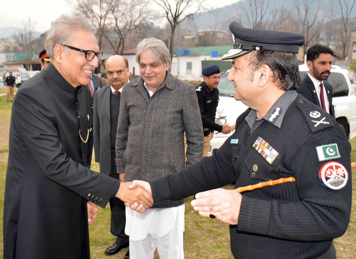 New IGP KPK With President DR Arif Alvi.jpeg